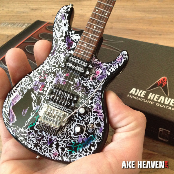 Joe Satriani Flying In A Blue Dream Miniature Guitar Replica Collectible