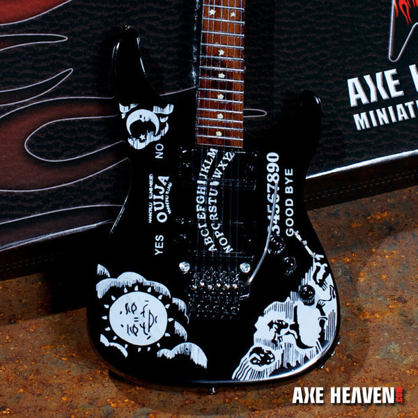 "Kirk Hammett Signature ""Ouija"" Miniature Guitar Replica Collectible"