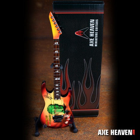 "Kirk Hammett Signature ""Mummy"" Miniature Guitar Replica Collectible"