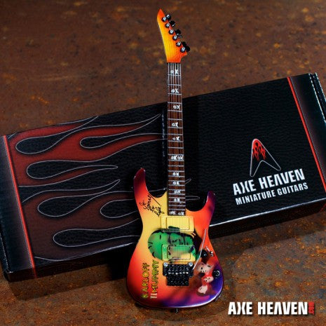 "Signature ""Mummy"" Miniature Guitar Replica Collectible"