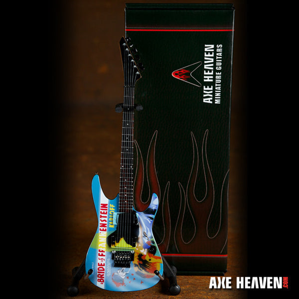 The Bride of Frankenstein Miniature Guitar Replica Collectible