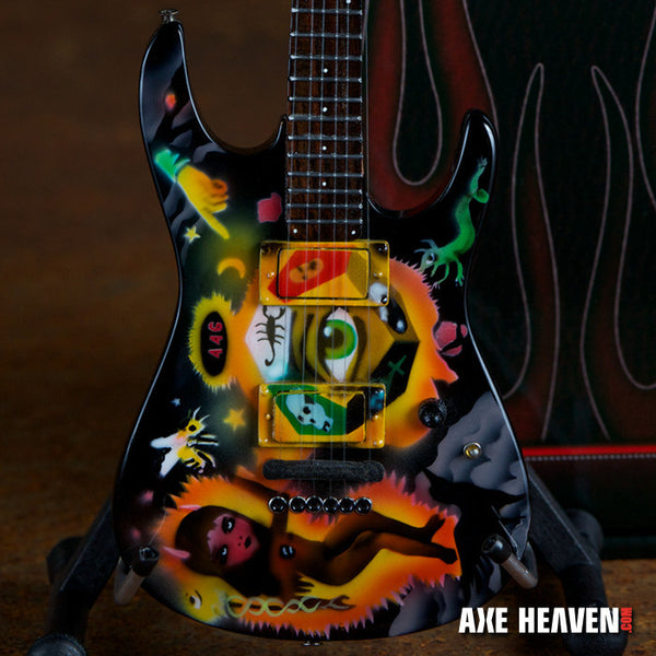 Kirk Hammett Cult Theme One Eye Miniature Guitar Replica Collectible