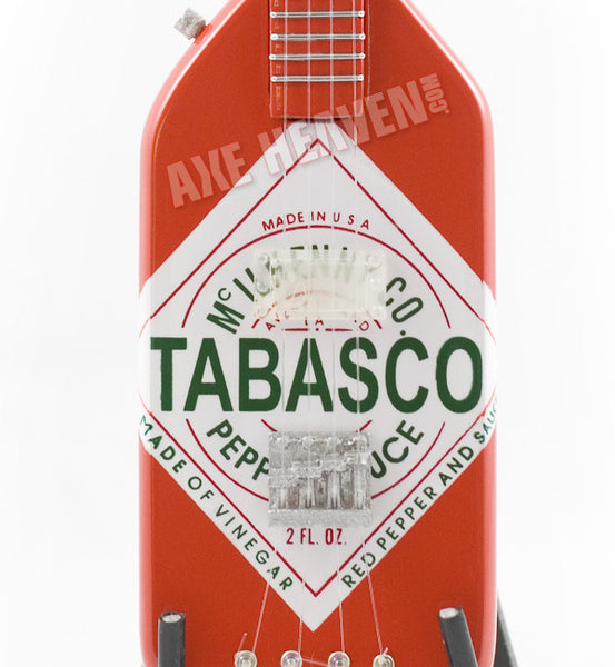 Officially Licensed Michael Anthony Tabasco Bass Mini Guitar Replica