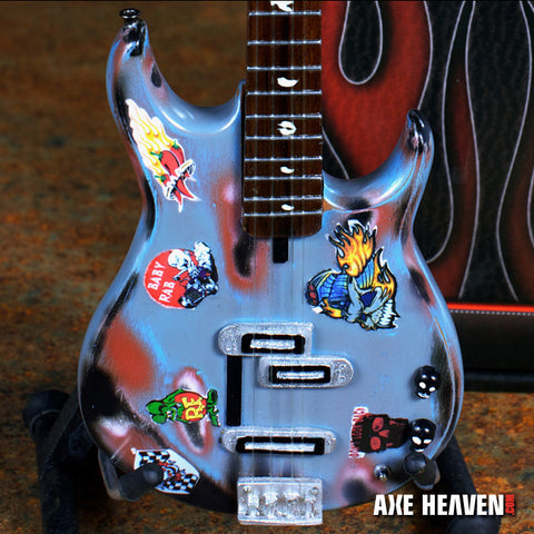 Officially Licensed Michael Anthony Rat Rod Custom Shop Bass Mini Guitar