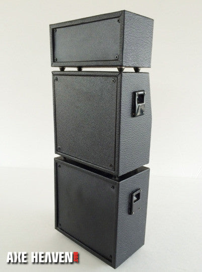 Full Stack Mini Amp – Classic Black MS Style Speaker Cabinets