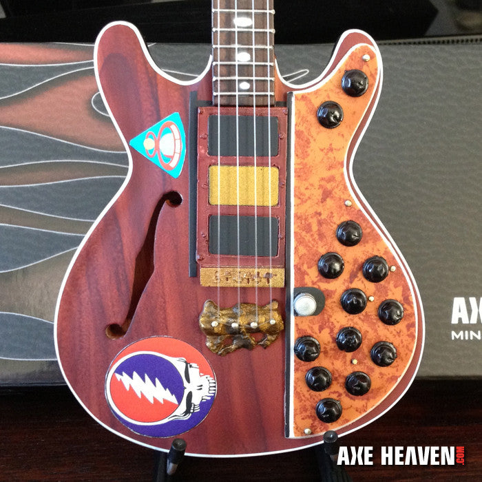 Phil Lesh Steal Your Face Bass Mini Guitar Replica Collectible
