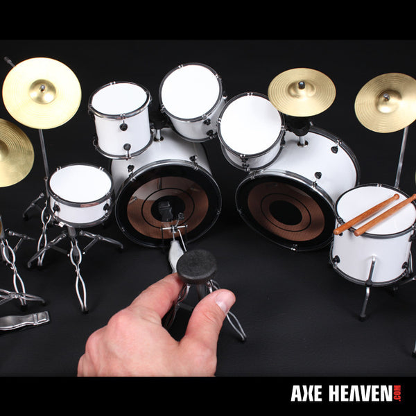 "Jimmy ""The Rev"" Sullivan Miniature Replica Drum Set Collectible"