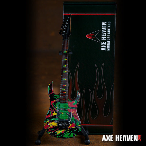Steve Vai Signature Universe Swirl 7 String Miniature Guitar Replica Collectible