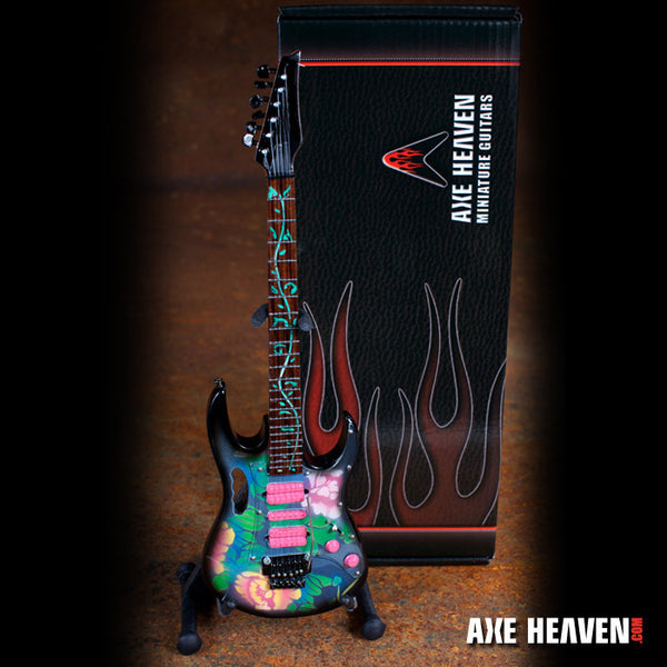 Steve Vai Signature Lotus Flower JEM Miniature Guitar Replica Collectible