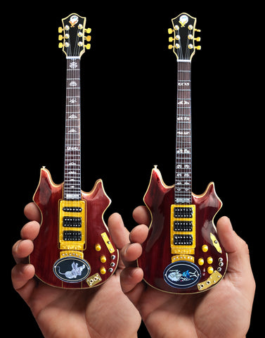 Jerry Garcia™ Set of Tiger™ & Rosebud™ Miniature Guitar Replica Collectibles