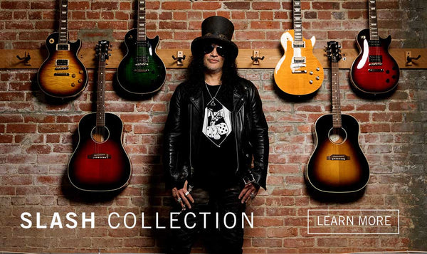 2020 Autographed Slash Gibson Mini Guitar Replica Collectibles - LIMITED QUANTITY