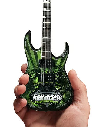 Carolina Rebellion Festival 2018 Limited-Edition RonzWorld Mini Guitar Replica