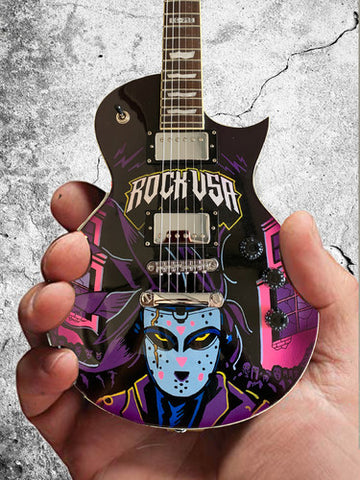 Rock USA Festival 2019 Limited-Edition RonzWorld Mini Guitar Replica Collectible