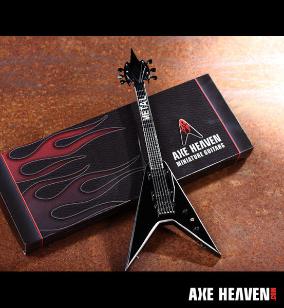 Officially Licensed Metal Mike Metalworker Miniature Guitar Replica Collectible