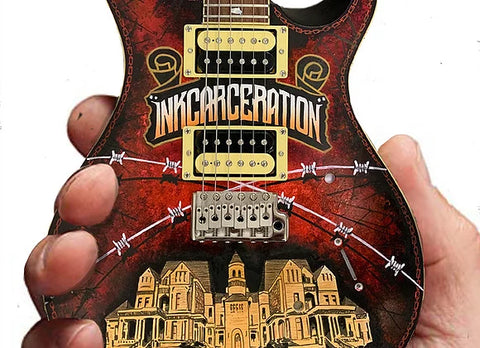 Inkcarceration Festival 2019 Limited-Edition RonzWorld Mini Guitar Replica Collectible