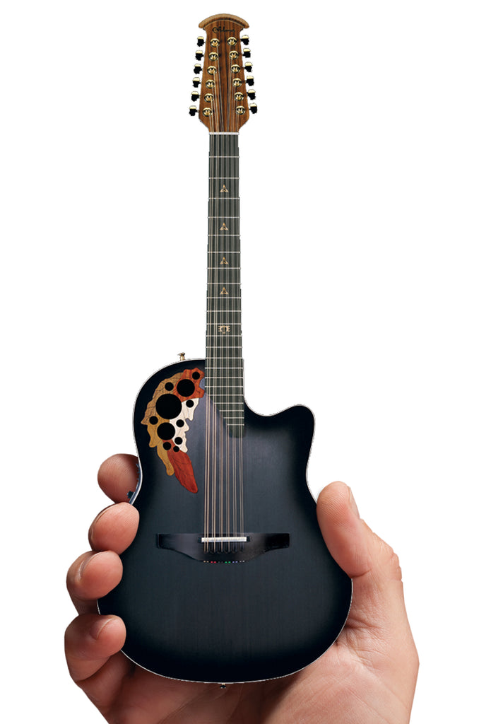 Melissa Etheridge 12-String Signature Ovation Adamas Mini Guitar 2018 Limited-Edition Replica Collectible