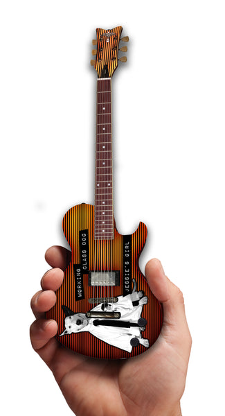 Rick Springfield Working Class Dog Mini Guitar Replica Collectible