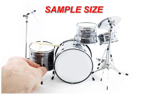 Classic 5-Piece Red Sparkle Drum Set Mini Replica Collectible