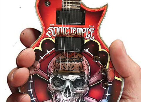Sonic Temple 2019 Limited-Edition RonzWorld ESP Mini Guitar Replica