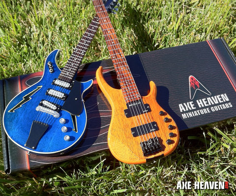 Bob Weir & Phil Lesh Modulus Mini Guitar & Bass Replica Furthur Collection