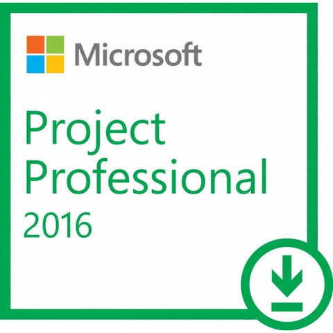 Office 2016 Project Professional - 1 PC Download Version