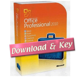 Microsoft Office 2010 Professional Full - 2 Pcs Download Version