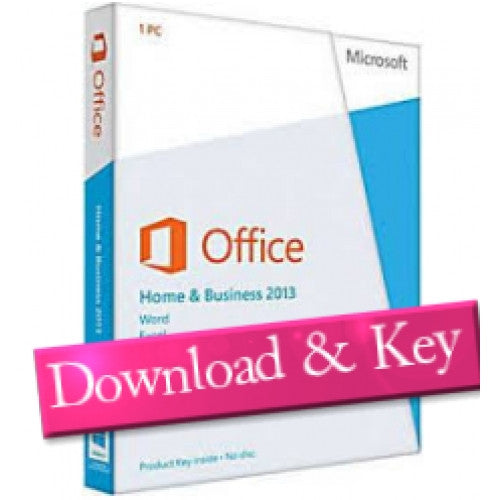 Microsoft Office 2013 Home & Business - 1 PC Download