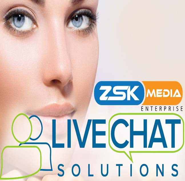 Zsk Media solutions for live help, live support and live sales