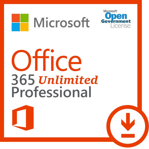 Microsoft Office 365 Professional (5 PC/Mac + 5 Tablet + 5 Mobiles)