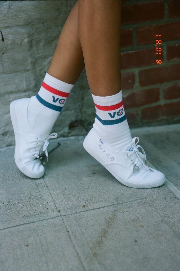 When We All Vote x         Brother Vellies Canvassing Sneakers