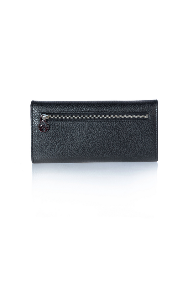 Leigh Wallet in Midnight