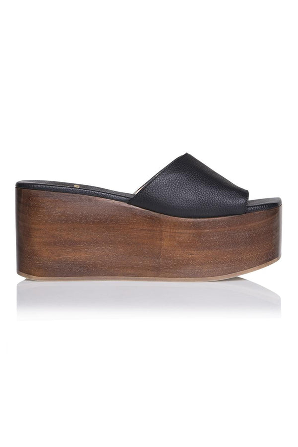 Abbi Flatform in Midnight