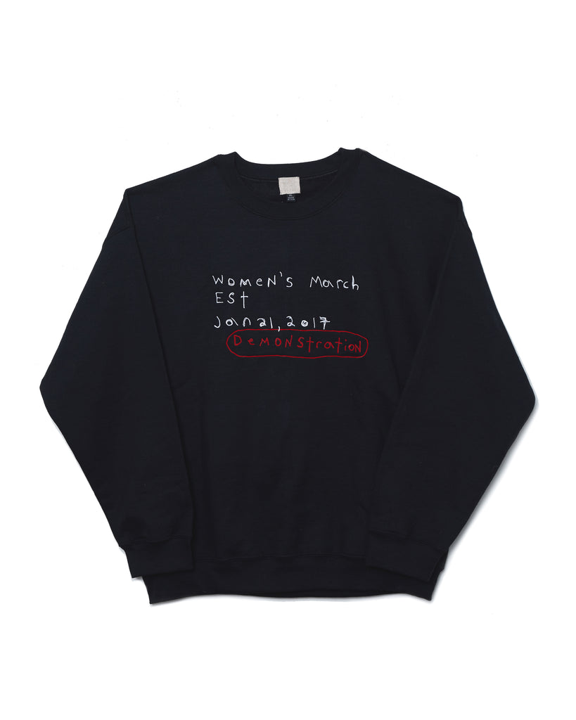 Brother Vellies x Sisson 'Demonstration' Crewneck