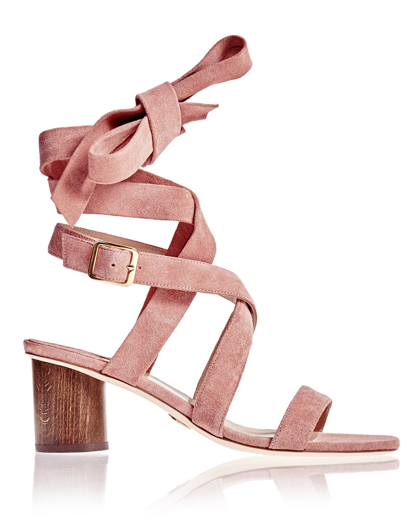 Bruna Sandal in Dusty Rose