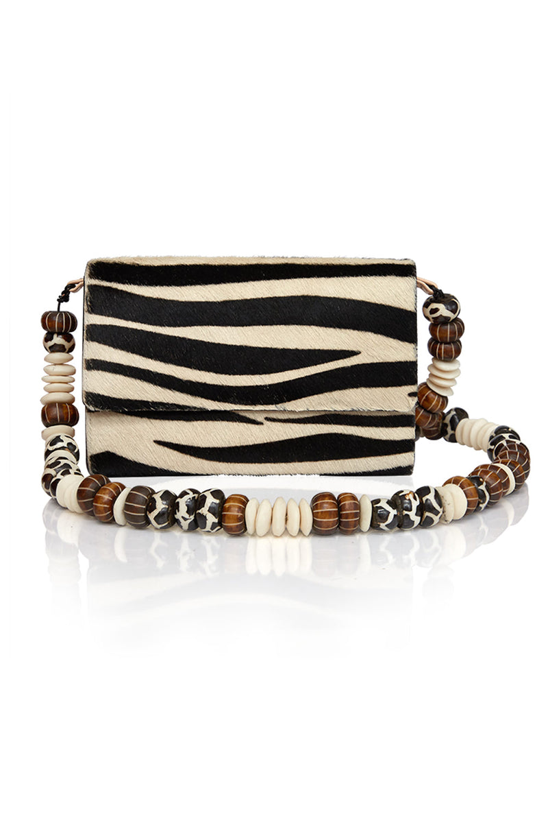 Zebra Billfold Bag