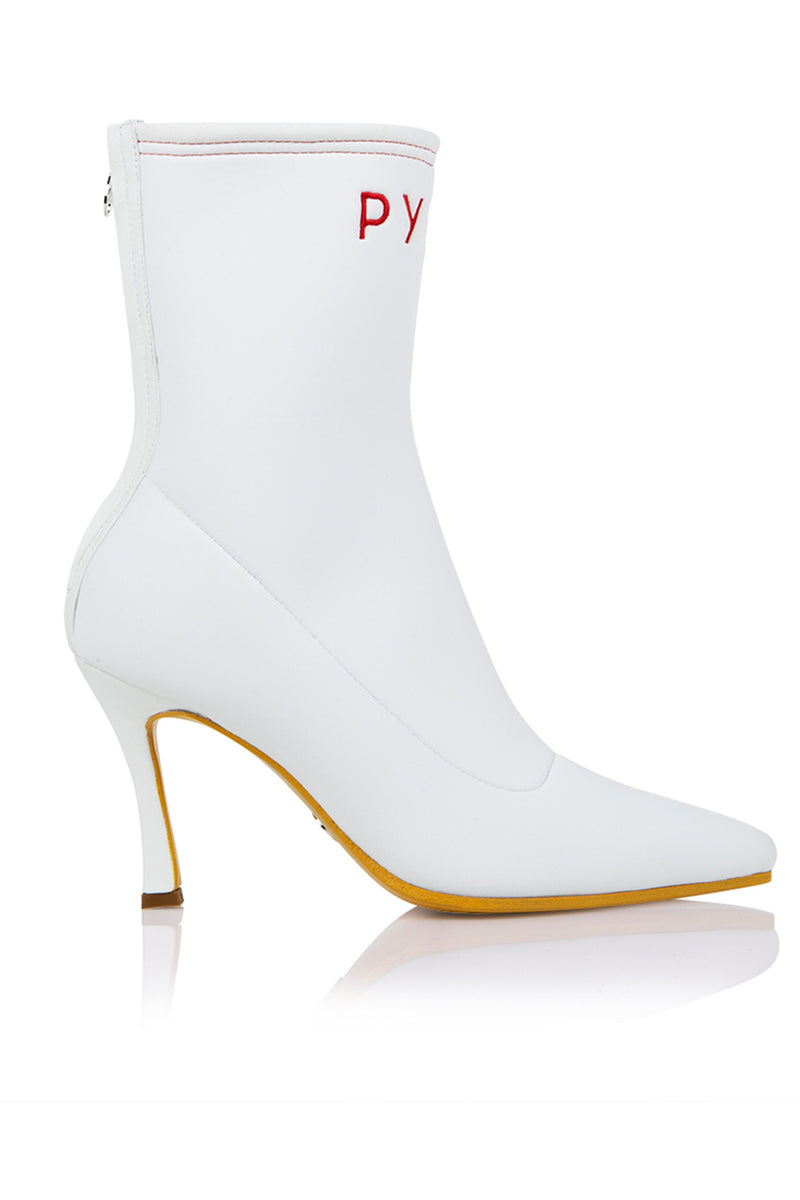 Pyer Moss x Brother Vellies Mamba Boot in White