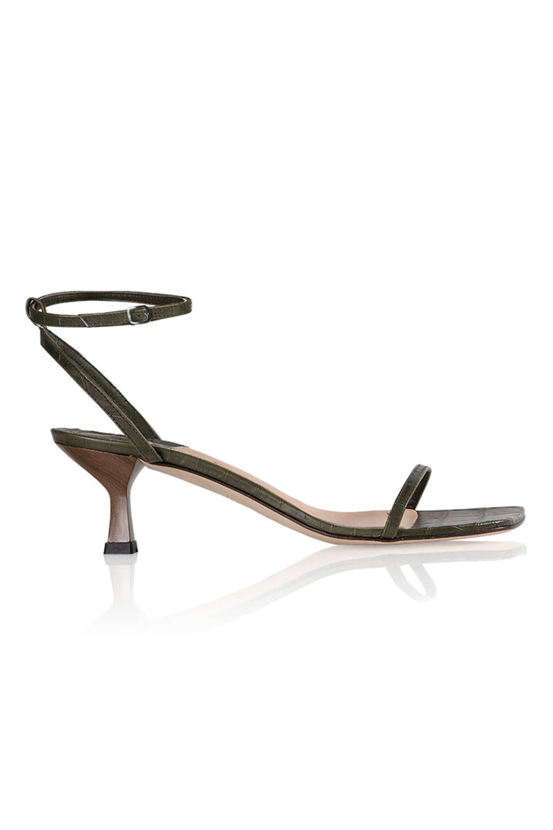 Dandridge Sandal in Moss
