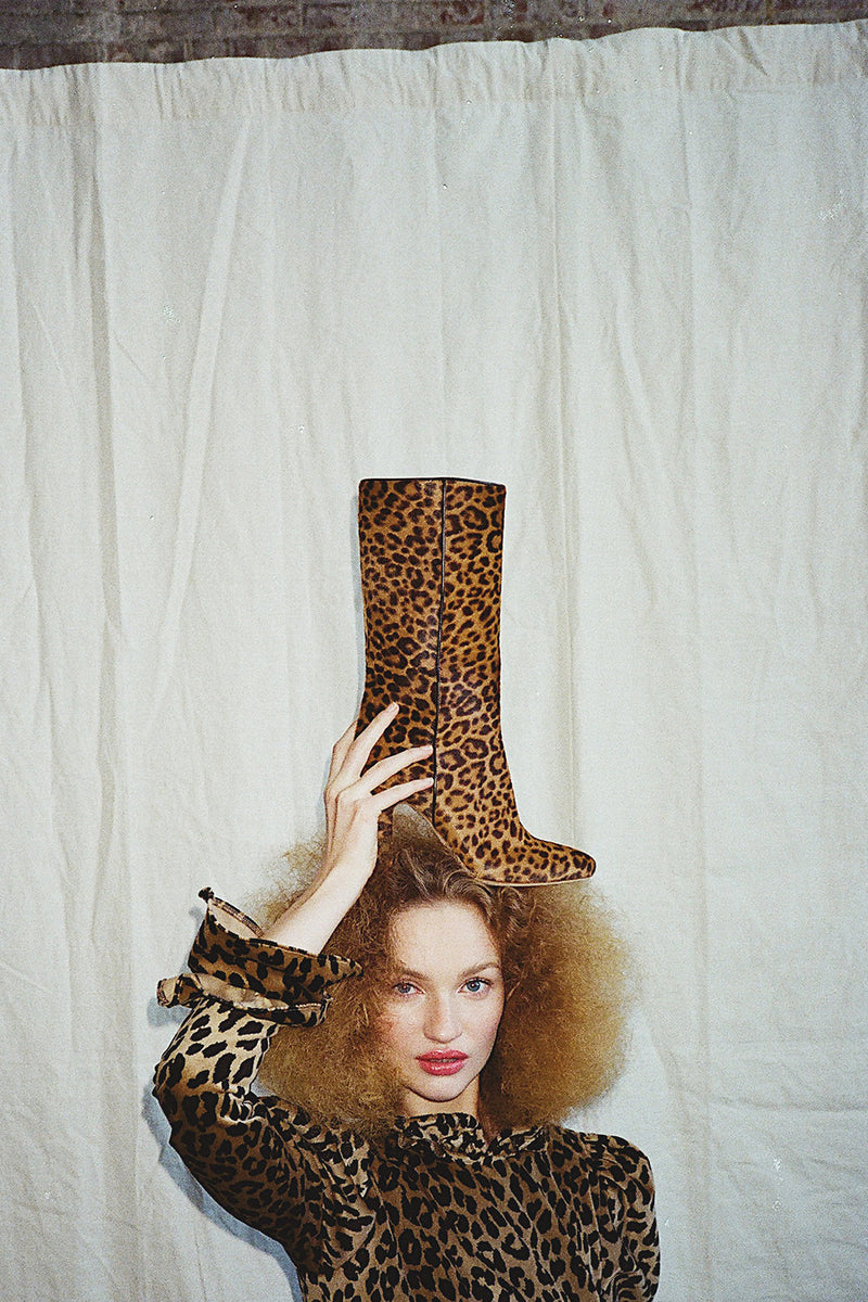 Leopard Palms Boot