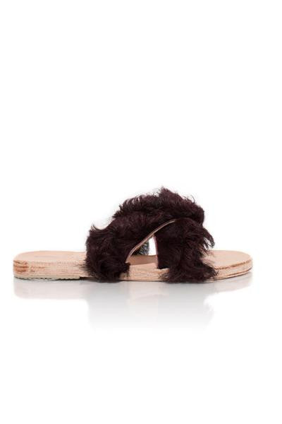 Blackberry Lamu Sandal