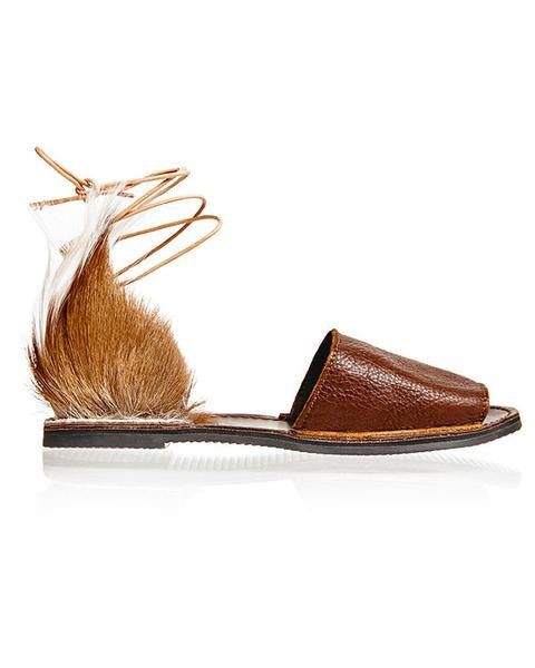Leather Springbok Congo Sandal