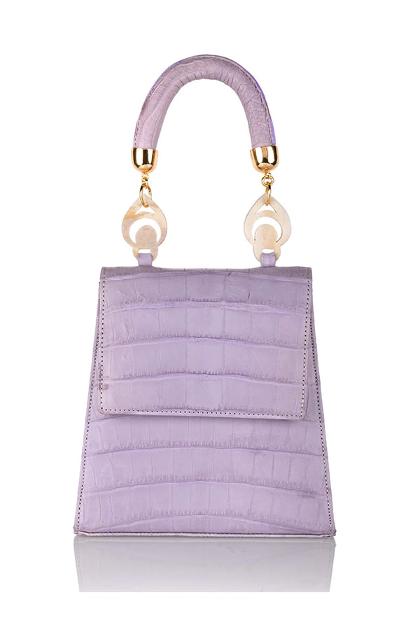 Nile Handbag in Lavender