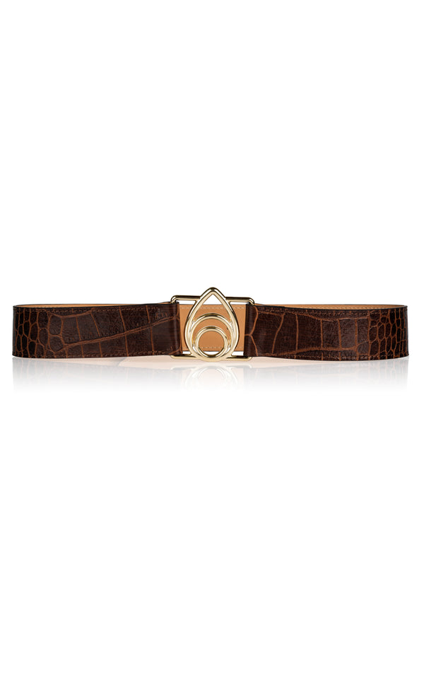 Opus Belt in Chocolate