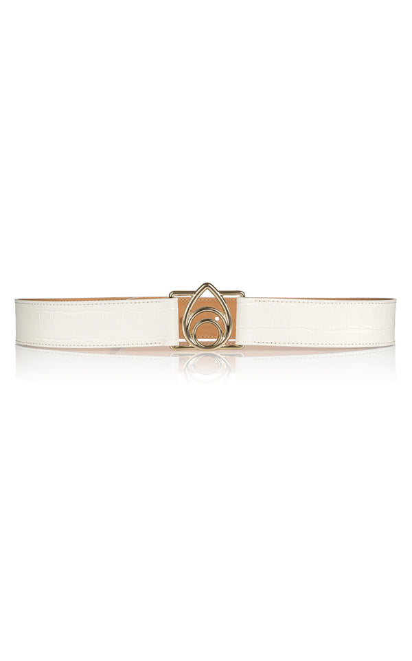 Opus Belt in White