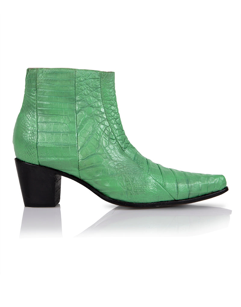 Pyer Moss x BV Chelsea Boot in Green