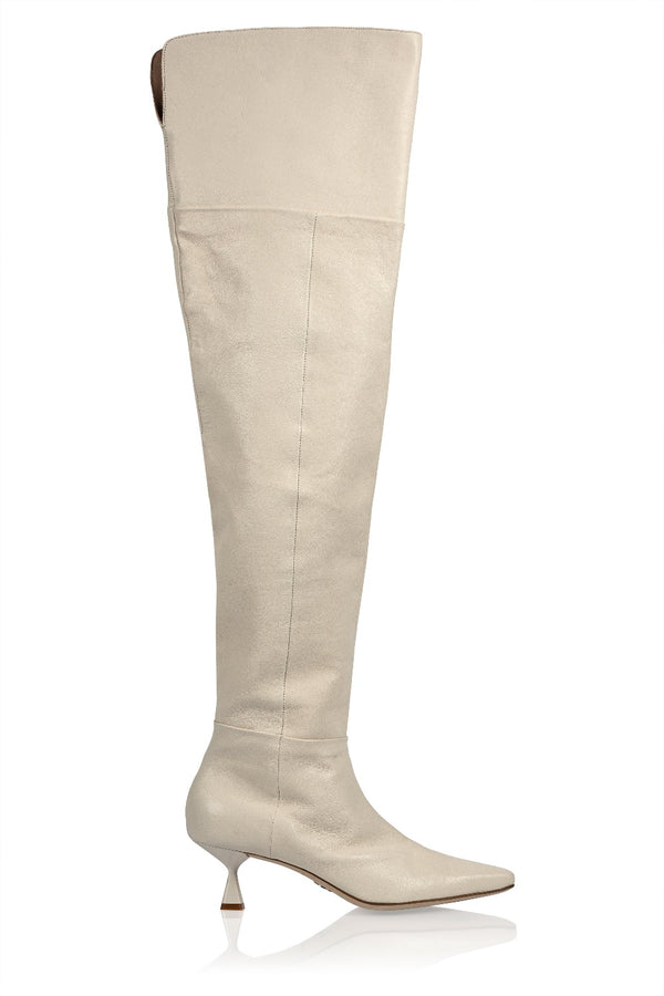 Ronstadt Boot in Ivory