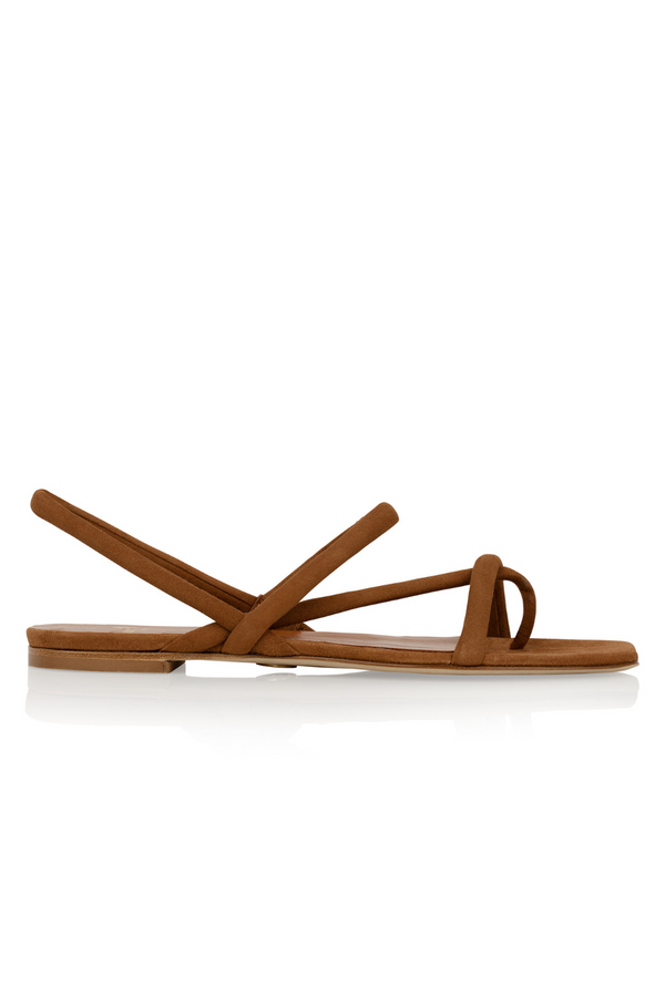 Trieste Sandal in Pillow Suede