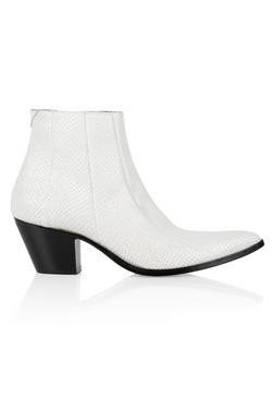 Brother Vellies by Pyer Moss Chelsea Boot in White