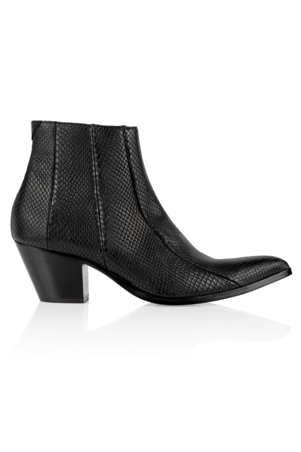 Brother Vellies by Pyer Moss Chelsea Boot in Black