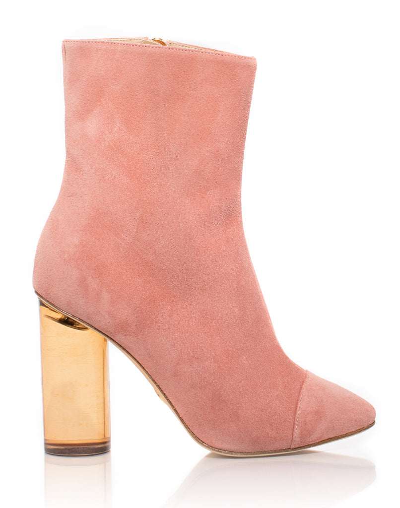 Cheap Shopping Online Free Shipping Amazing Price BROTHER VELLIES Suede Bianca Boots in Dusty Rose Suede Sale Discounts Amazon Online HiJl7D8H8y