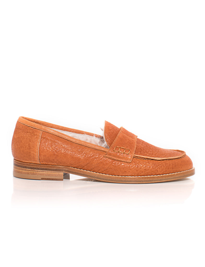 Rum Shearling Loafer